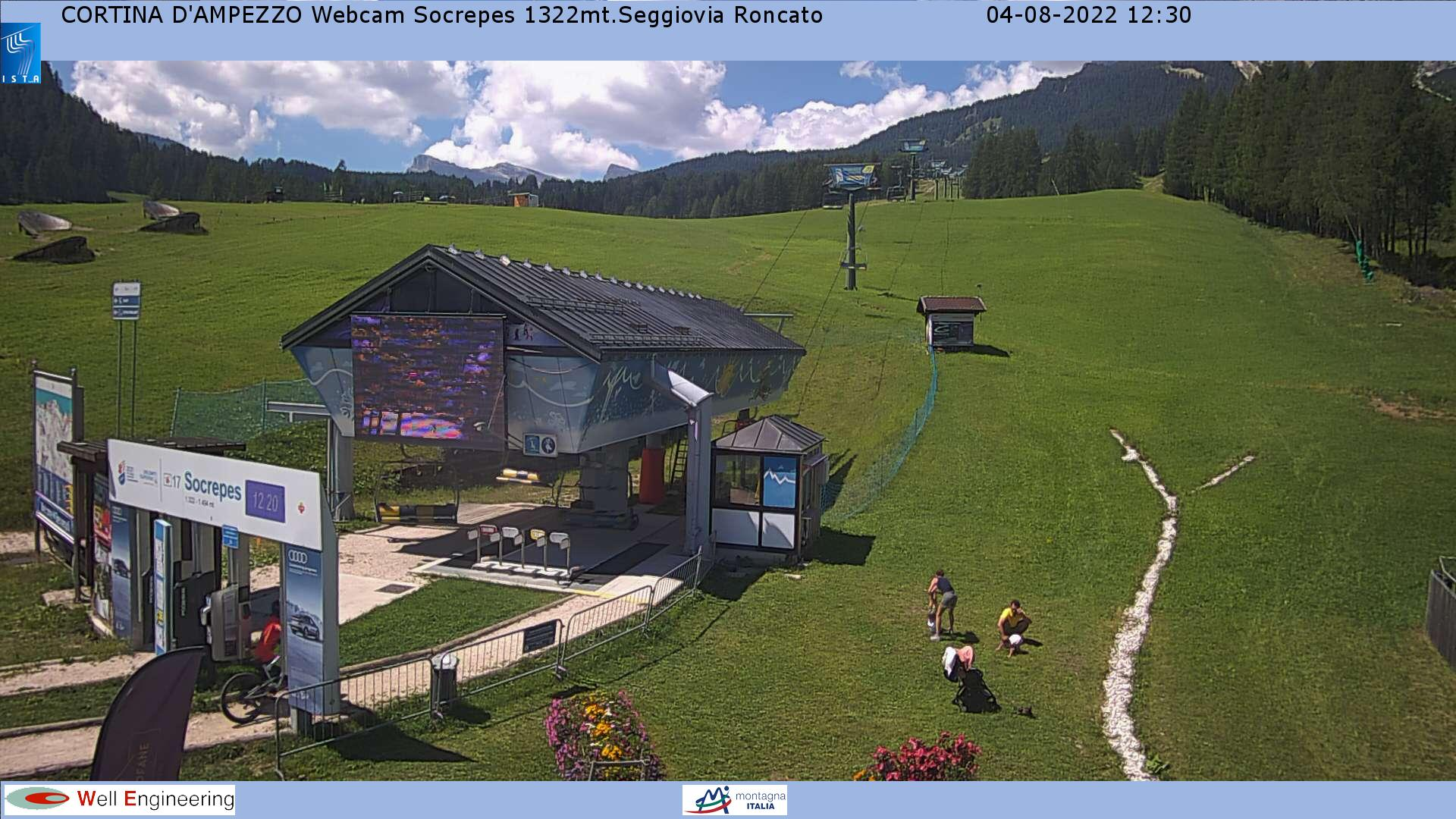 Webcam at Socrepes (1322mt.) - Roncato Chair Lift