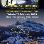CORTINA SNOW RUN 22 febbraio 2020