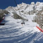 Olimpia delle Tofane, one of the best ski tracks in Italy!