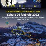 CORTINA SNOW RUN 26 febbraio 2022